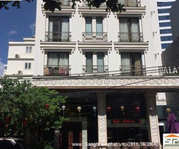 Tạo Mẫu, thi công gắn chỉ mặt tiền Khách sạn Đường Trần Hưng Đạo