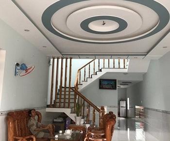 Thi công trần thạch cao Công trình Nhà Anh Thế, TT Nam Phước, Quảng Nam